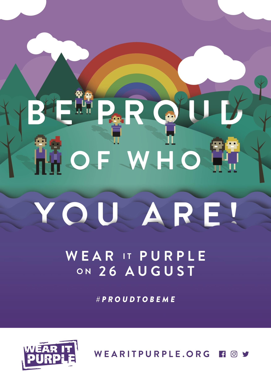 Wear It Purple 2016 – Poster | Pride in Diversity